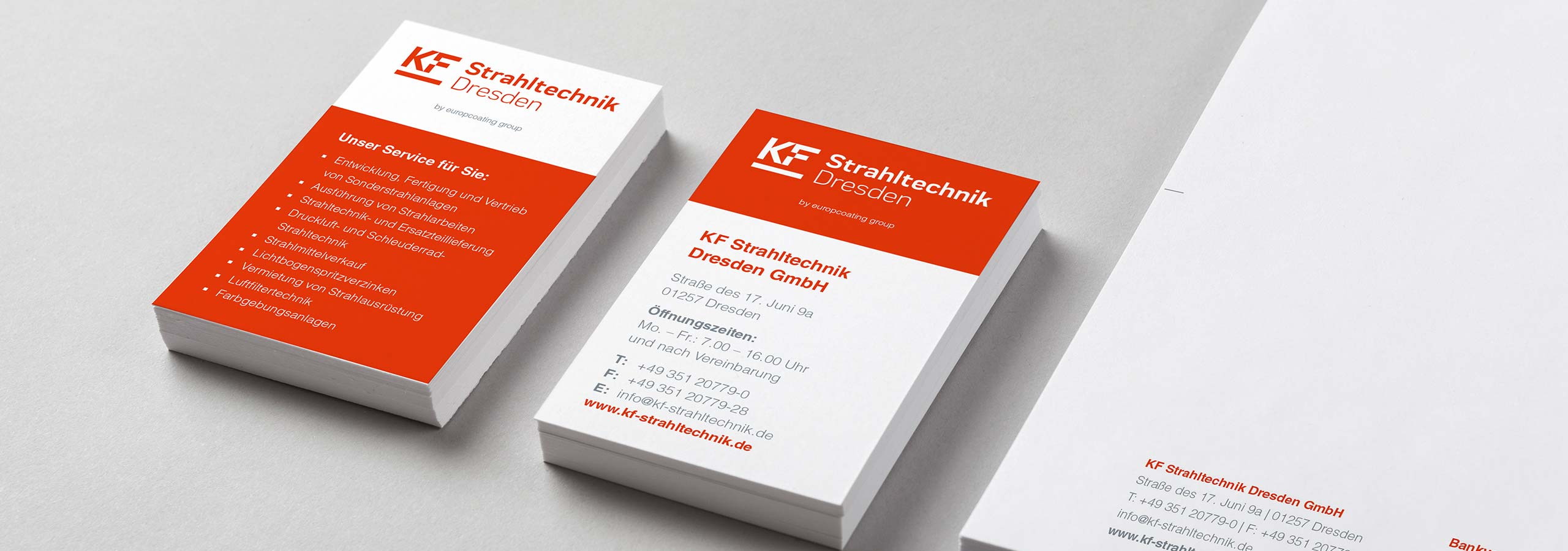 KF Strahltechnik Dresden | Umfirmierung von KF Strahltechnik