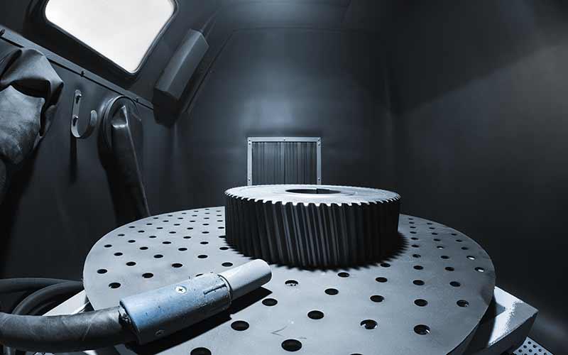 KF Strahltechnik Dresden | Kabine zum Anlagenbau