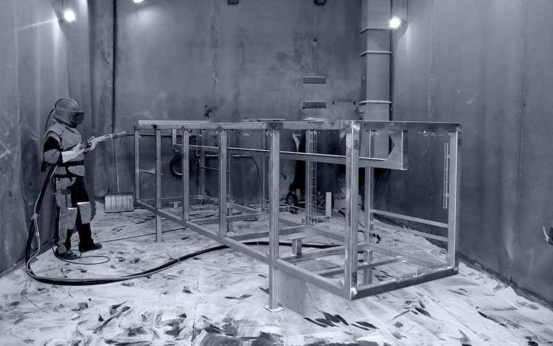 KF Strahltechnik Dresden | Raum zum Anlagenbau