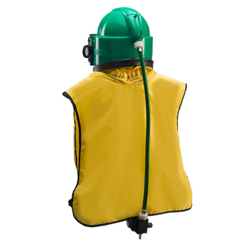 KF Strahltechnik Dresden | Strahlerschutzausrüstung Helm und Anzug